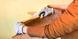 Glasfasertapete entfernen: Darauf sollten Sie achten