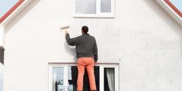 Silikonharzfarbe: Der Schutz für die Fassade