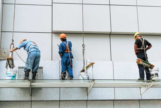 Fassade-Renovierung