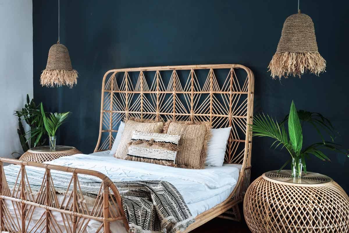 Bohemian-Stil-Schlafzimmer