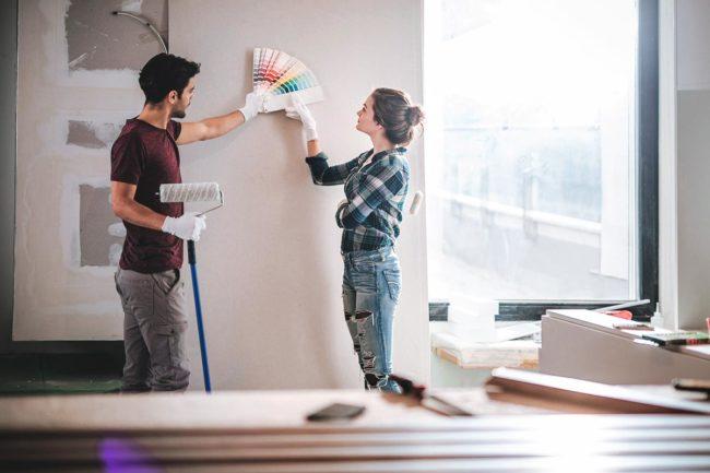 Wandfarbe-aussuchen
